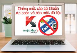 Bảo vệ an toàn dữ liệu laptop - Bản quyền diệt virus Kaspersky