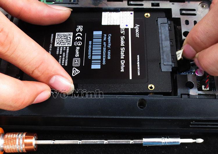 Dịch vụ thay linh kiện laptop uy tín
