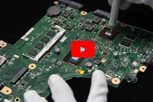 Vệ sinh laptop tại Võ Minh