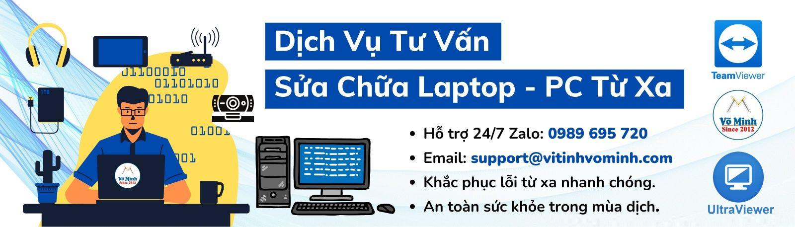 Sửa Laptop PC từ xa (Con)