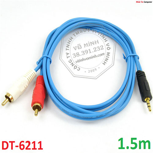 cable-loa-dtech-dt-6211-1-dau-35;-2-dau-bong-sen